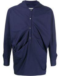 Chalayan - ドレープシャツ - Lyst