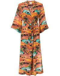 Chufy Safari ドレス - ブラウン