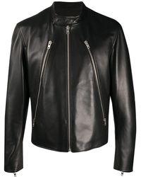 Maison Margiela Куртка С Высоким Воротником - Черный