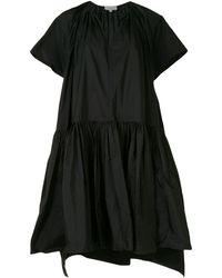 Delpozo オーバーサイズ ドレス - ブラック
