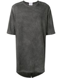 Lost and Found Rooms - Oversized Parka T-shirt - Lyst