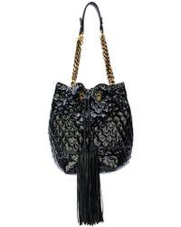 Ermanno Scervino - Textured Bucket Shoulder Bag - Lyst