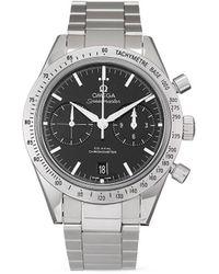 Omega Наручные Часы Speedmaster 57 Co-axial Chronograph Pre-owned 41.5 Мм 2017-го Года - Черный
