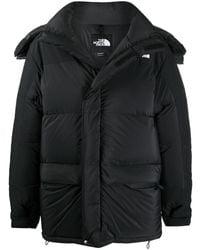 The North Face ロゴ パデッドコート - ブラック