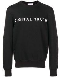 Low Brand - Crew Neck Sweatshirt - Lyst