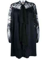 Emilio Pucci Расклешенное Платье С Пайетками - Черный