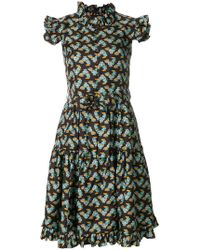 LaDoubleJ - Zip & Sassy Dress - Lyst