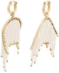 Ellery - Pearl Fringe Emin Drop Earrings - Lyst