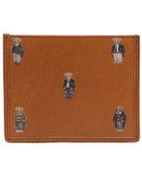 Polo Ralph Lauren カードケース - ブラウン