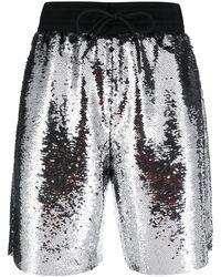 Golden Goose Deluxe Brand Sequin-embellished Shorts - Metallic