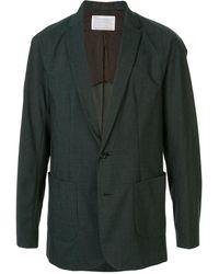 Kolor ストレートジャケット - グリーン