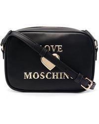 Love Moschino - Umhängetasche mit Logo-Prägung - Lyst