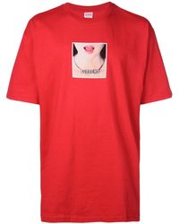 Supreme Necklace T-shirt - Red