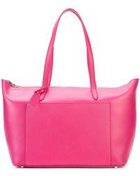 Smythson 'panama East West' Tote Bag - Pink