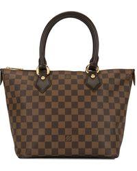 Louis Vuitton Pre-owned Saleya Pm Tote - Brown
