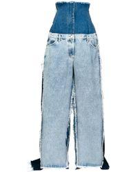 Natasha Zinko - Oversized Super High-rise Jeans - Lyst