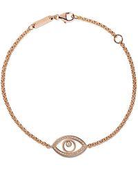 Chopard 18kt Rose Gold Good Luck Charms Diamond Bracelet - Металлик