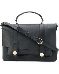 L Autre Chose Pebbled satchel pGCCOZLX8a