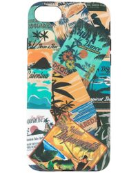 DSquared² - Magazine Print Iphone 8 Case - Lyst