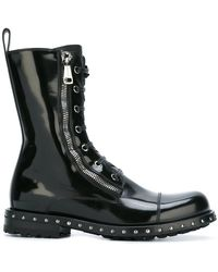 Dolce & Gabbana - Utility Boots - Lyst