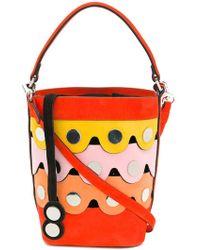 Pierre Hardy - Scalloped Bucket Bag - Lyst