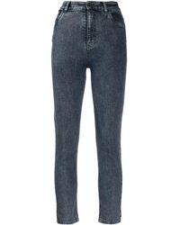 Miu Miu High Rise Skinny Jeans - Blue
