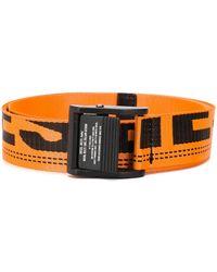 DIESEL B-maser Logo Tape Belt - Orange