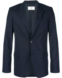AMI 2ボタン ジャケット - ブルー
