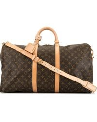 Louis Vuitton Pre-owned Keepall 45 Bandouliere 2way Travel Handbag - Brown