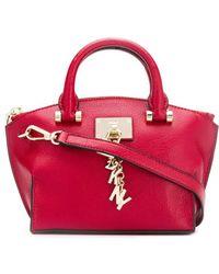Donna Karan Bolso shopper Elissa mini - Rojo
