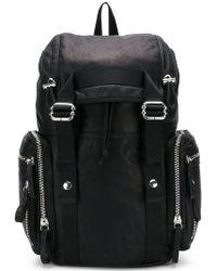 258c54ab9760 Diesel Black Gold - Buckled Backpack - Lyst