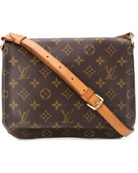 Louis Vuitton Borsa a spalla Musette Pre-owned anni 2000 - Marrone