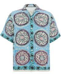 "JW Anderson Hemd mit ""Mystic Paisley""-Print - Blau"