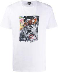 Just Cavalli プリント Tシャツ - ホワイト