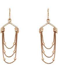 Stephen Webster - Draped Diamond Earrings - Lyst