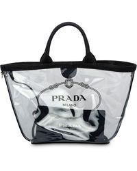 Prada - クリア トートバッグ - Lyst