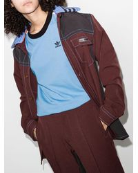 adidas X Wales Bronner ロゴ Tシャツ - ブルー