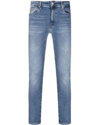 Calvin Klein ロゴ スキニージーンズ - ブルー