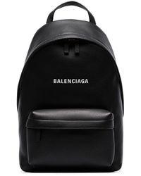 Balenciaga Рюкзак С Логотипом - Черный