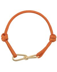 Annelise Michelson Medium Wire Cord Bracelet - Orange