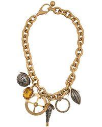 Marni Collana con pendente - Metallizzato