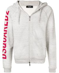 DSquared² - Rough Rider Print Hoodie - Lyst