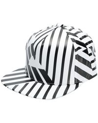 Emporio Armani | Striped Logo Cap | Lyst