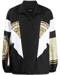 Versace - Giacca Barocco con stampa - Lyst