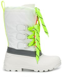 DSquared² Ski Fluo Sonar レースアップブーツ - グリーン