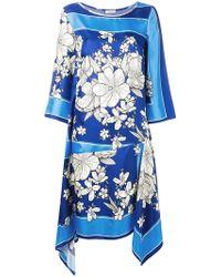 P.A.R.O.S.H. - Salto Silk Dress - Lyst