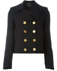 Alexander McQueen - Double Breasted Peacoat - Lyst