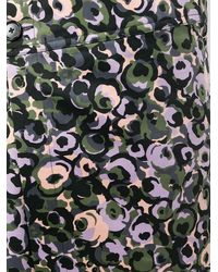 Marni Floral Print Midi Skirt - Green