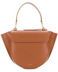 Wandler Hortensia Medium Shoulder Bag - ブラウン