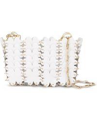Paco Rabanne Clover Ring Mini Bag - White